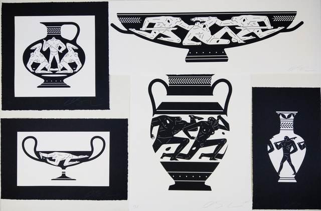 Cleon Peterson, 'End of Empire Set 2', 2018, New Union Gallery