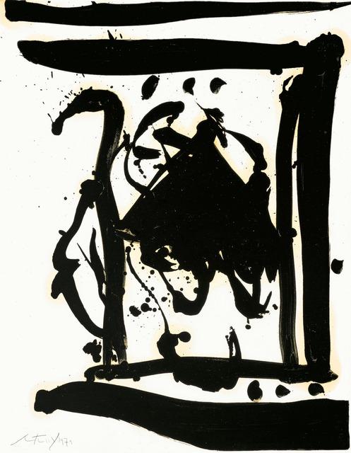 Robert Motherwell, 'Drunk with Turpentine No. 2 (Stephen's Gate)', 1979, Dedalus Foundation