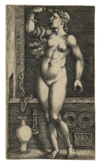 , 'Kleopatra – Cleopatra Standing,' 1529, C. G. Boerner