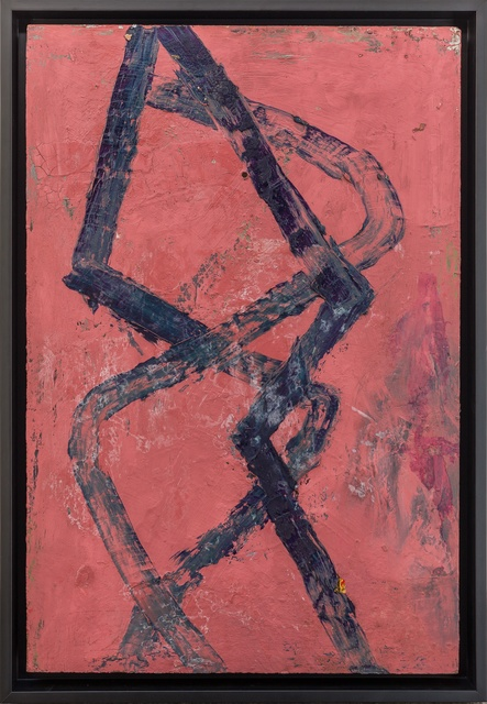Alberto Garcia-Alvarez, 'A-368', 1991, Painting, Mixed media on board, Tim Melville Gallery