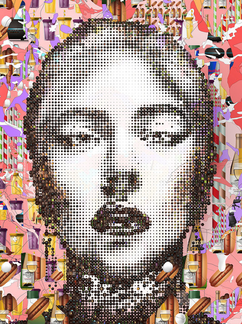 Tom Tor, 'Lady Gaga', 2018, Print, Serigraph, Themes+Projects