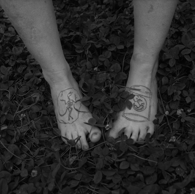 , 'Natasha's Feet, PAw Paw, Madison County, NC,' 2013, Tracey Morgan Gallery