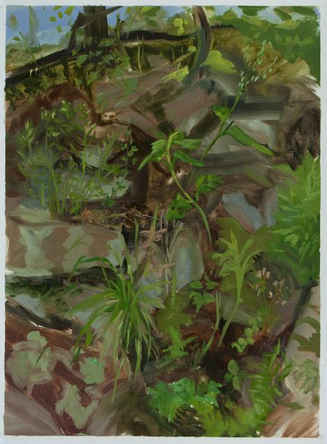 , 'Study for Rocky Hillside,' 2012, Inman Gallery