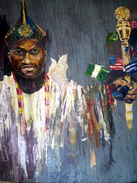 , 'Yoruba Universal Majesty,' , Zenith Gallery