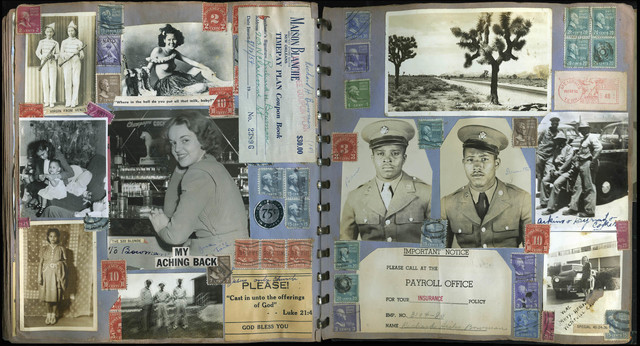 Richard Hicks Bowman, 'Untitled [Military Stamp Scrapbook Album]', 1943-1959, The Walther Collection