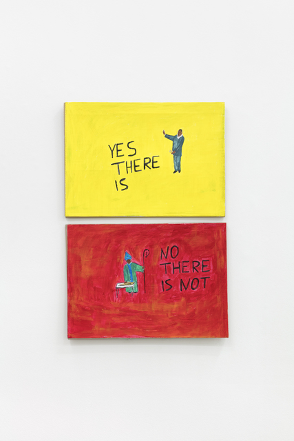, 'YES THERE IS - NO THERE IS NOT,' 2019, Stevenson