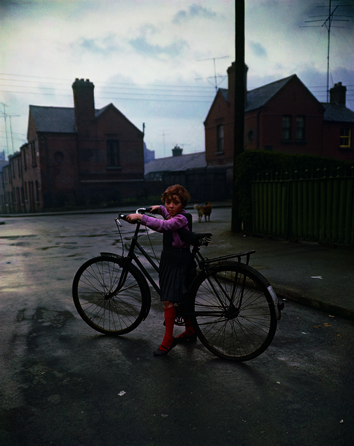 Evelyn Hofer, 'Girl With Bicycle, Dublin', 1966, ROSEGALLERY