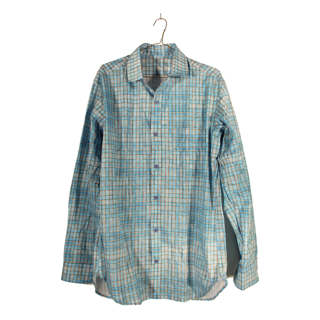 , 'untitled (flannel 02),' 2015, Marly Hammer