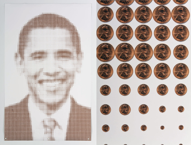 , 'Obama and Lincoln,' 2011, Lisa Sette Gallery