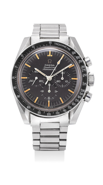 OMEGA, 'A very fine and attractive stainless steel chronograph wristwatch with bracelet', 1967, Phillips