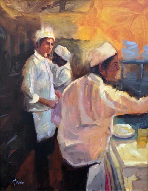 , 'Lunch Pad,' 2018, Meyer Vogl Gallery