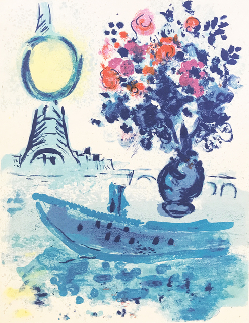 , 'Regards sur Paris [Le Bateau Mouche au bouquet],' 1960, Dellasposa