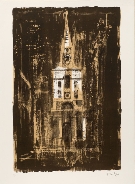, 'Christ Church, Spitalfields, London, by Nicholas Hawksmoor,' 1964, Marlborough London
