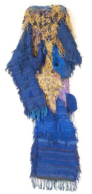Josep Grau-Garriga, 'Personaje Azul (Blue Personage)', 1992, Michel Soskine Inc.