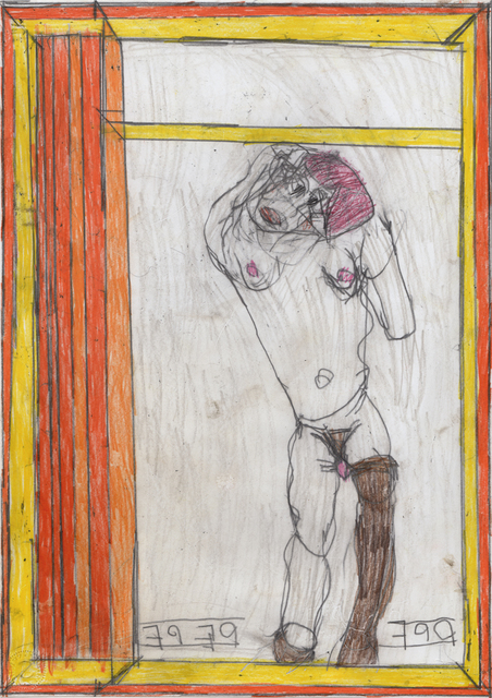 , 'untitled,' 2012, christian berst art brut
