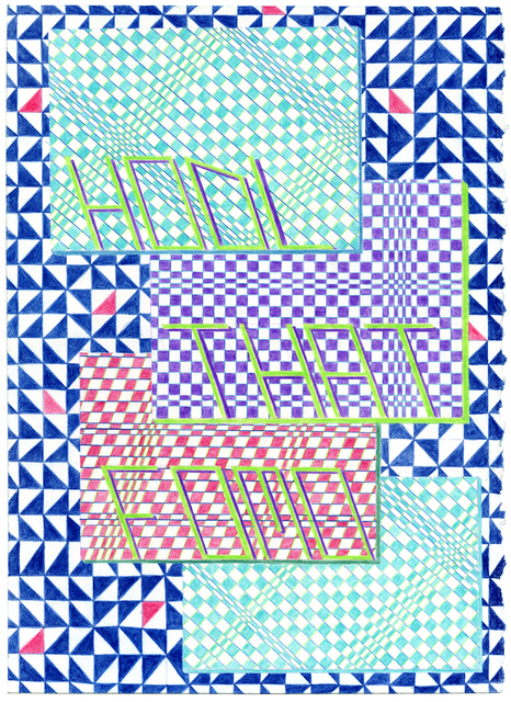 , 'Hold That FOMO - Imaginary Bands #185,' 2017, Mini Galerie