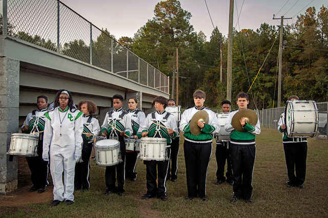 , 'Band, Pre-Game, Dallas County, AL,' 2017, Spalding Nix Fine Art