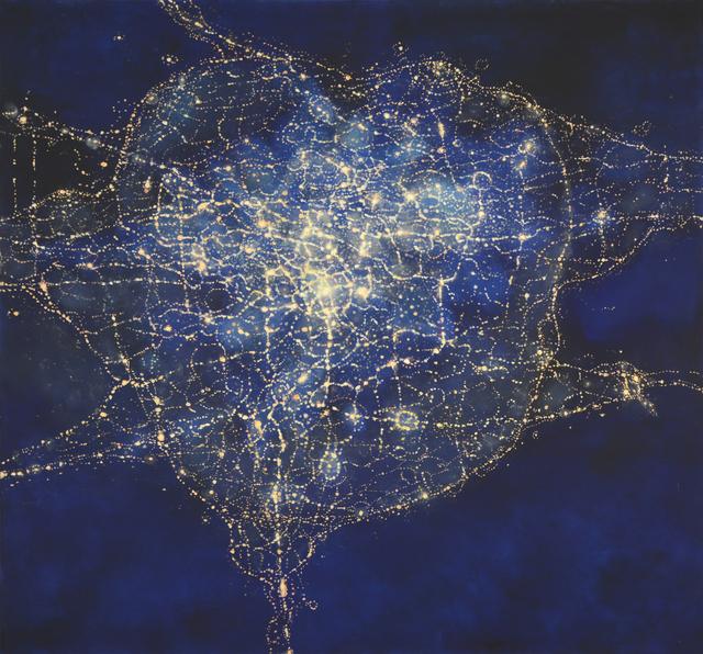 , 'Illuminator (satellite),' 2020, Mark Moore Fine Art