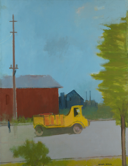 , 'The Yellow Truck,' 1980, Debra Force Fine Art