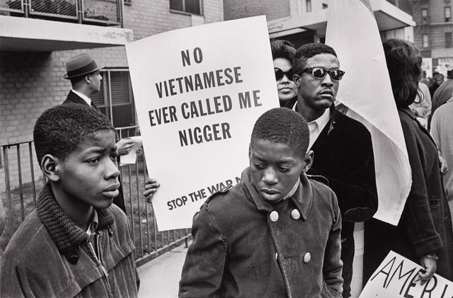 , 'Harlem Peace March ( No Vietnamese...) NYC,' 1967, Arnika Dawkins Gallery