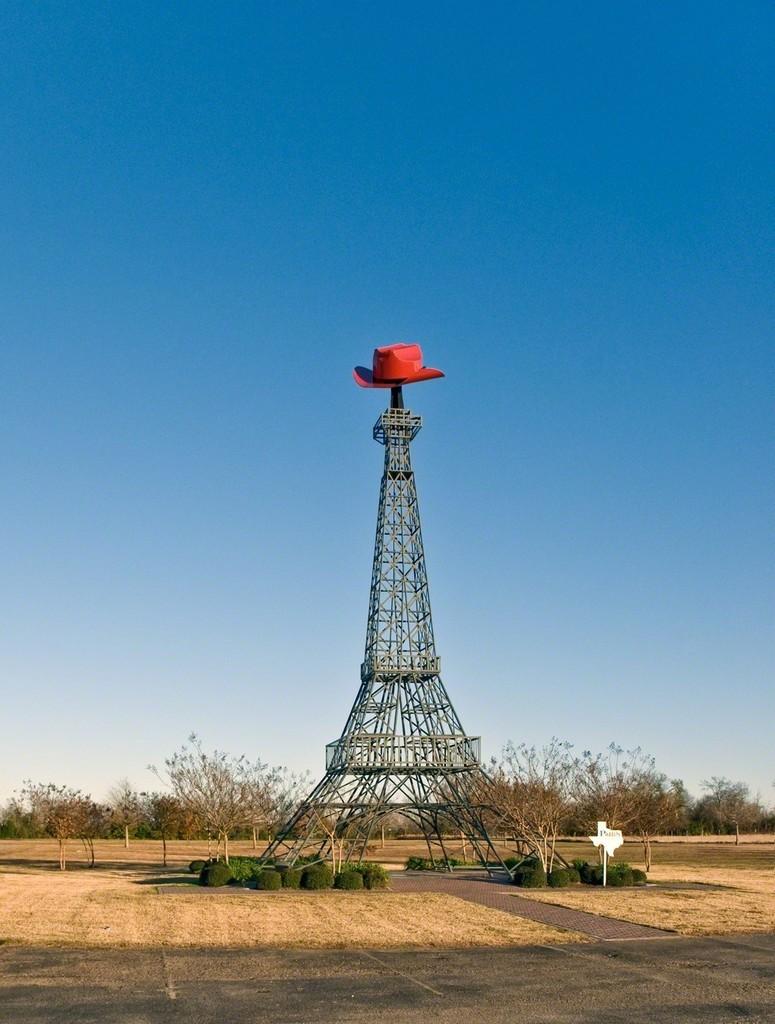 Teresa Hubbard and Alexander Birchler, 'Eiffel Tower, Paris, Texas,' 2009, Lora Reynolds Gallery