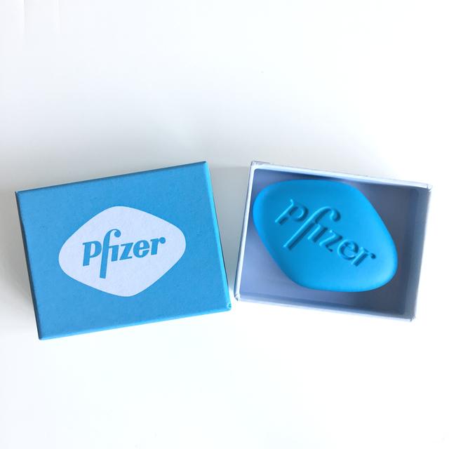 , 'Pfizer VGR 100mg (Baby blue),' 2014, Joseph K. Levene Fine Art, Ltd.