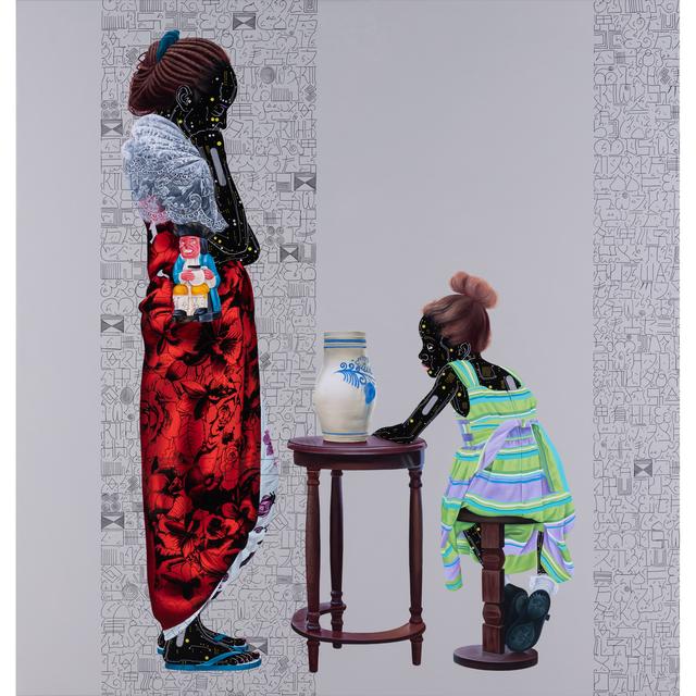 Eddy Kamuanga Ilunga, 'Série Fragile Responsibility', 2018, Painting, Huile sur toile, PIASA