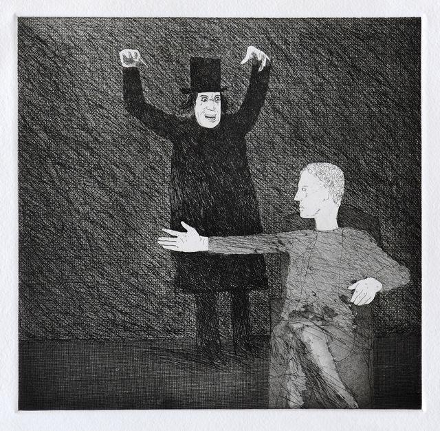 David Hockney, 'Inside the Castle', 1969, Print, Etching and aquatint, Goldmark Gallery