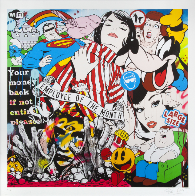 Ben Frost, 'Employee Of The Month', 2014, Julien's Auctions