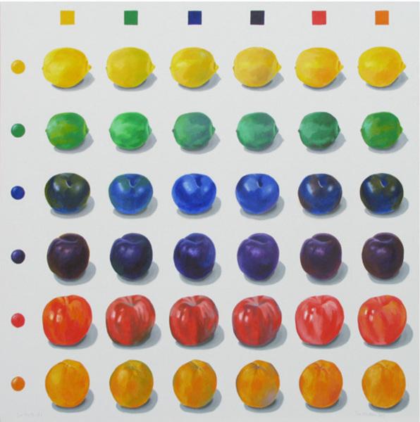 , 'Six Fruits,' 2017, David Barnett Gallery