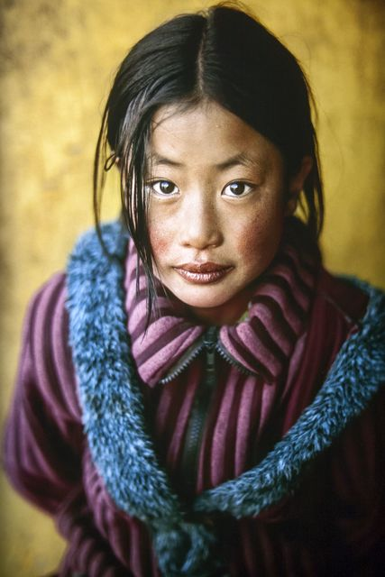 , 'Tibetan Girl with New Coat,' 2001, Etherton Gallery