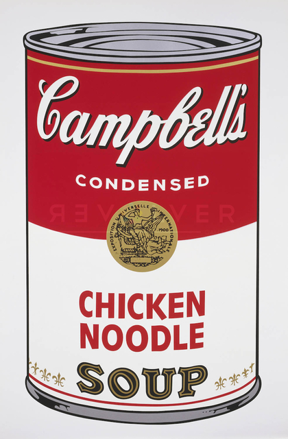 Andy Warhol, 'Campbell's Soup I: Chicken Noodle (FS II.45)', 1968, Revolver Gallery