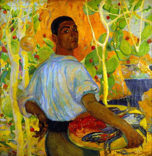 , 'Pescador de Mallorca,' ca. 1915, Museo Nacional de Arte (MUNAL)