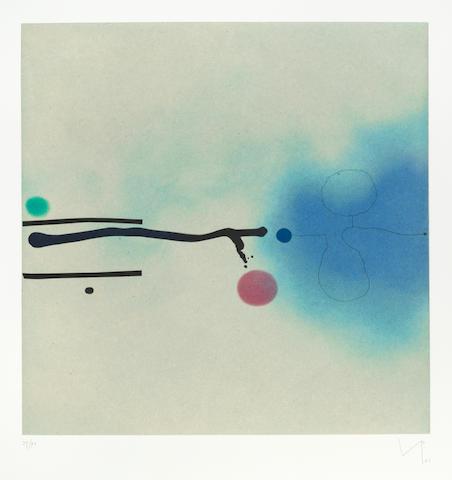 Victor Pasmore, 'Blue Image', 1986, Hidden
