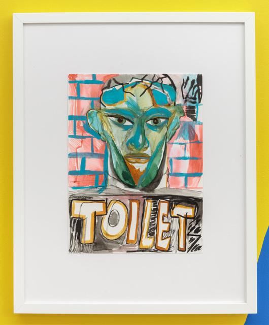 , 'Toilet,' 2017, American Medium