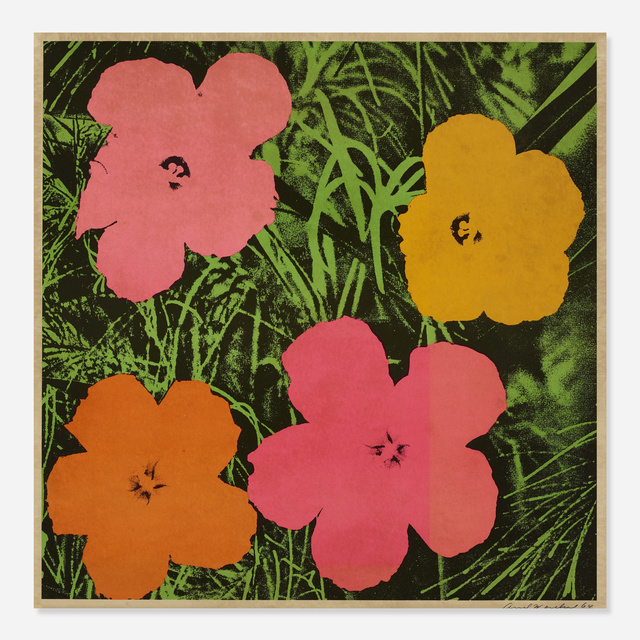 Andy Warhol, 'Flowers', 1964, Wright