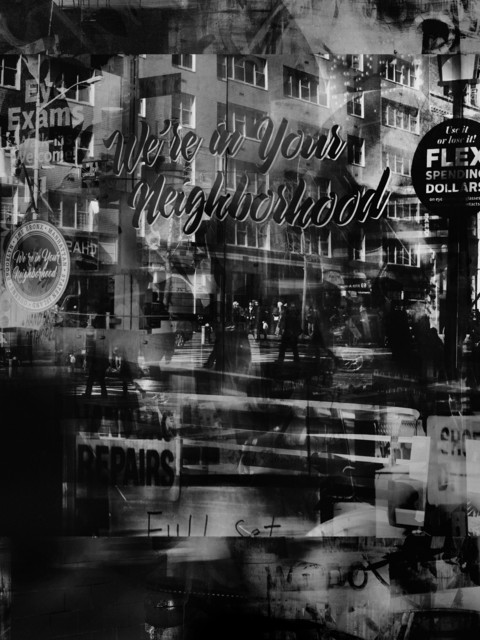 Valérie Belin, 'Uptown Vision (Reflection)', 2019, Photography, Pigment print back-mounted on Dibond and framed with non reflect glass, Galerie Nathalie Obadia