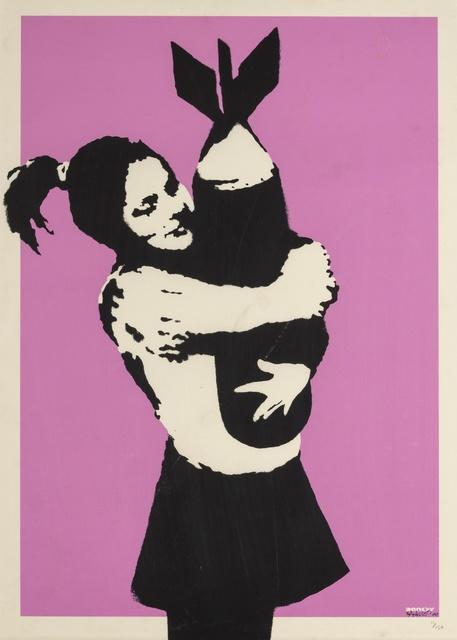 Banksy, 'Bomb Love (Bomb Hugger)', 2003, Forum Auctions