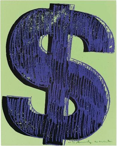 Andy Warhol, '$ (1)', 1982, Coskun Fine Art