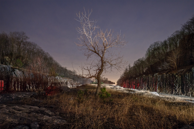 Mark Lyon, 'Mile 55.6, East Fishkill, NY', 2018, Elizabeth Houston Gallery