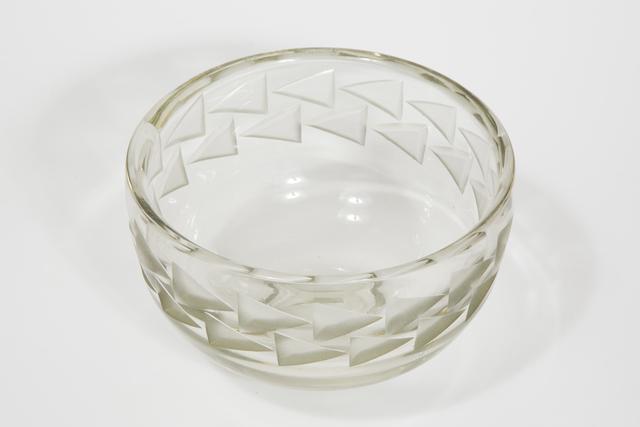 Jean Luce, 'Art deco glass bowl', ca. 1935, Transatlantique Gallery