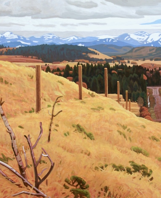 , 'Benchlands,' , Madrona Gallery