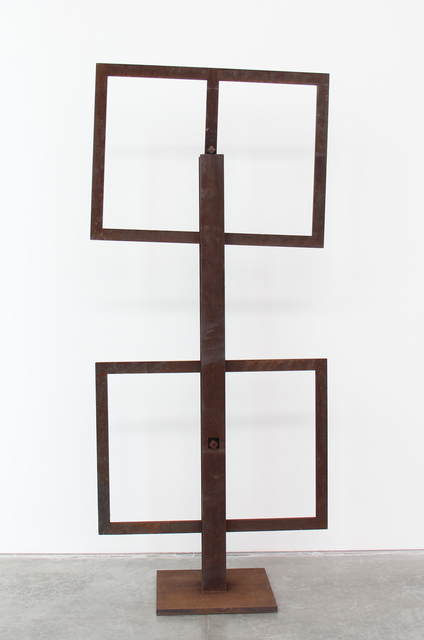 Raul Mourão, 'duas janelas', 2015, Sculpture, Corten steel, Roberto Alban Galeria de Arte