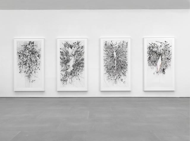 , 'Myriads, Only By Dark,' 2014, Berggruen Gallery