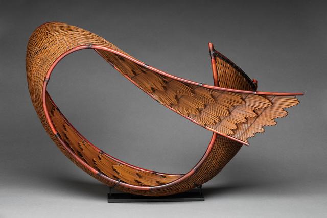 Honma Hideaki, 'Flowing Pattern B', 2018, Sculpture, Madake, Nemagari, and Rattan, TAI Modern