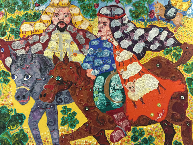 , 'Sheep Sheiks,' 1977, Transmission Gallery