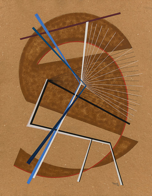 , 'Composition ,' 1949, Rosenberg & Co.