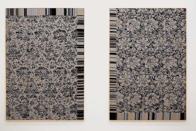 , 'Jacquard Weave (SST 638a/SST 520),' 2014, Helga Maria Klosterfelde Edition