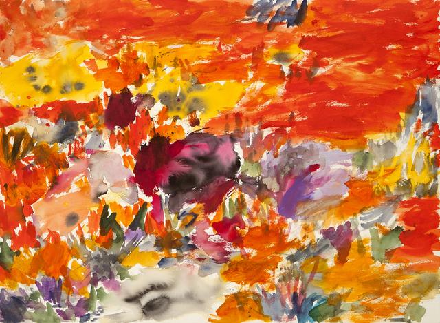 , 'Flores Naranja,' 2015, Odon Wagner Gallery