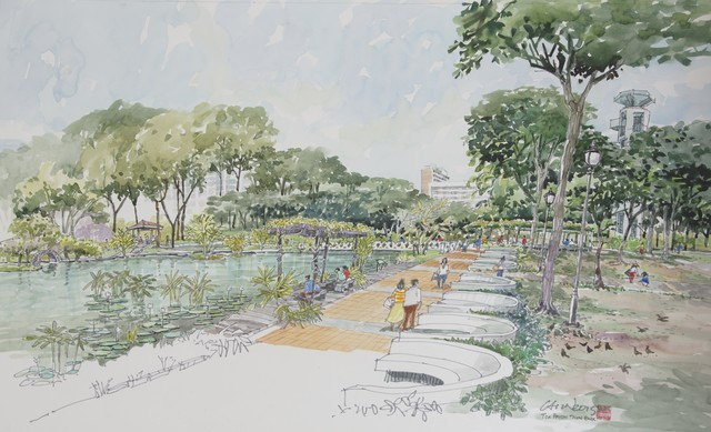 , 'Toa Payoh Town Park,' 2015, Ode to Art